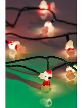 Snoopy String Lights by Urban Outfitters