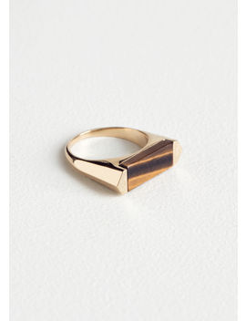 Tigers Eye Ring by & Other Stories