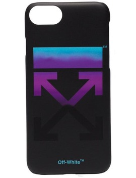 Black Gradient I Phone 8 Pvc Phone Case by Off White