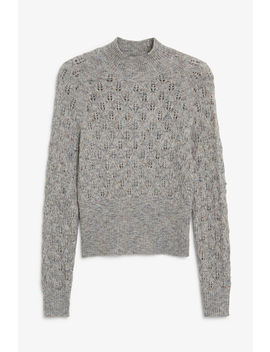 Knitted Turtleneck by Monki