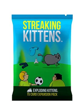 Streaking Kittens: This Is The Second Expansion Of Exploding Kittens by Exploding Kittens