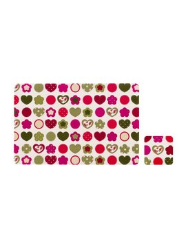 Premier Housewares Love Heart Placemats And Coasters   Set Of 4 by Premier Housewares