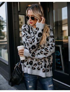 Kittenish Knit Sweater by Vici