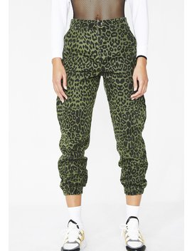On The Hunt Leopard Joggers by Wild Honey
