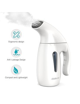 Clothes Steamer,Dodocool Handheld Travel Garment Steamer Iron For Clothes,180 Ml Portable Fabric Hand Steamer Clothes Fast Heat Up Automatic Shut Off Protection Powerful Steamer For Home Office,Travel by Dodocool