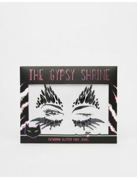 The Gypsy Shrine X Warner Brothers Halloween Catwoman Face Jewel by The Gypsy Shrine