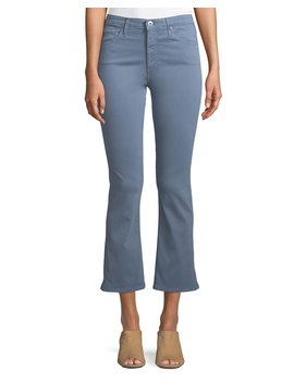 Jodi Slim Flared Crop Jeans by Ag Adriano Goldschmied
