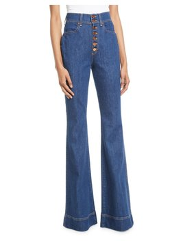 Beautiful High Rise Wide Leg Jeans by Ao.La By Alice+Olivia
