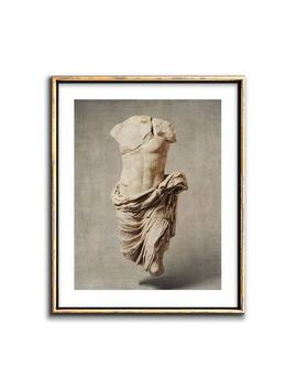Ancient Rome Sculpture Wall Art Printable Artwork, Ancient Roman Man Male Sculpture Photography, Classical Neutral Gallery Wall Decor by Etsy