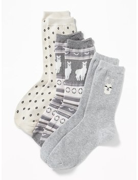 Socks 3 Pack For Women by Old Navy