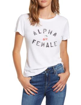 Alpha Female Cotton Blend Tee by Sub Urban Riot