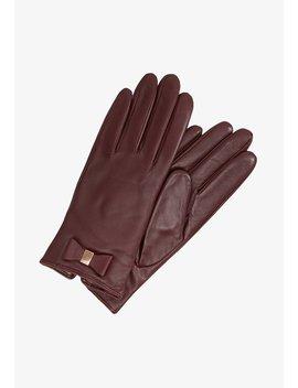 Betanie Bow Detail Glove   Handschoenen by Ted Baker