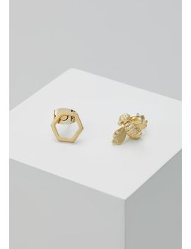 Blesila Bumble Bee Stud Earring   Oorbellen   Brushed Pale/Gold by Ted Baker