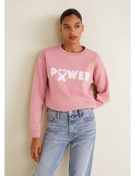 Solidary Sweatshirt by Mango