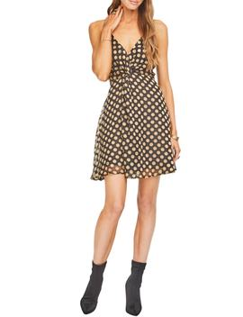 Kelsey Front Twist Fit & Flare Dress by Astr The Label