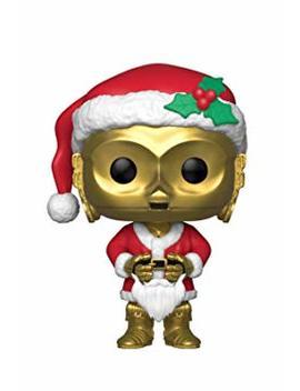 Funko 33888 Pop Bobble: Star Wars: Holiday Santa C 3 Po, Multi by Funko