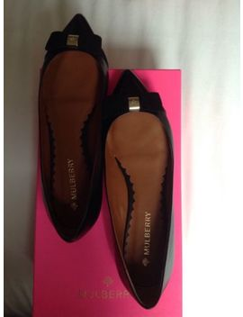 Mulberry Black Shoes Flat Size 5 Brand New&Nbsp; by Ebay Seller