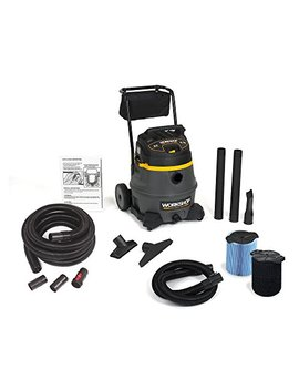 Workshop Wet Dry Vac Ws1400 Ca, 14 Gallon Shop Vacuum Cleaner, 6.0 Peak Hp W/Hose And Filter by Workshop Wet/Dry Vacs