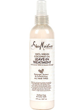 100 Percents Virgin Coconut Oil Daily Hydration Leave In Treatment by Shea Moisture