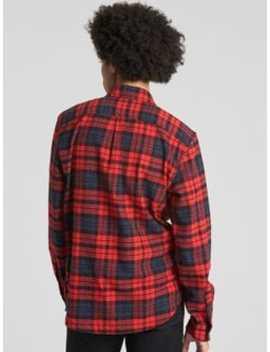 Standard Fit Flannel Shirt by Gap