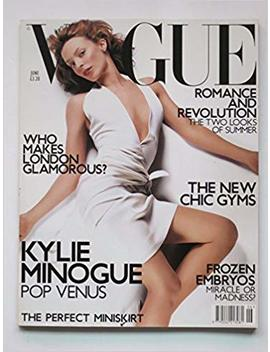 Vogue Magazine, June 2001, Kylie Minogue Cover By Vincent Peters by Amazon