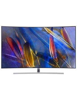 "Samsung 55"" 4 K Uhd Hdr Curved Qled Tizen Smart Tv (Qn55 Q7 Camfxzc)   Sterling Silver by Samsung"