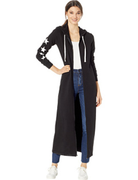 Track Terry Jcla Logo Hooded Duster by Juicy Couture