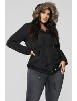 Keep Me Hot Jacket   Black by Fashion Nova