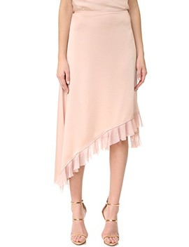 Ailie Asymmetric Ruffle Skirt by Elizabeth And James