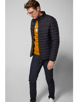 Water Repellent Quilted Jacket by Springfield