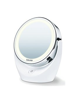 Beurer Bs49 Illuminated Led Free Standing Cosmetic Mirror by Argos