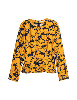 Long Sleeve Top by H&M