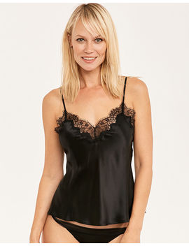 Lana Pure Silk And Lace Cami by Figleaves