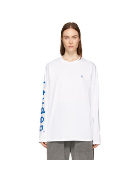 White Wonder Long Sleeve T Shirt by Études