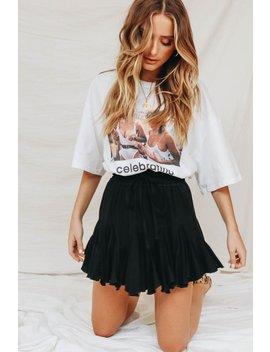 Girl Power Anthem Mini Skirt // Black by Vergegirl