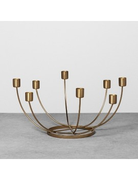 Candelabra Scalloped   Brass   Hearth & Hand™ With Magnolia by Shop This Collection
