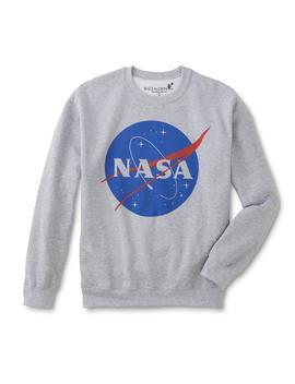 Men's Graphic Sweatshirt   Nasa by