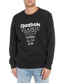 Crewneck Logo Sweatshirt by Reebok