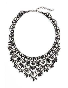Crystal Bib Necklace by Cristabelle