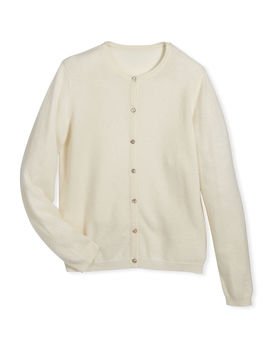 Button Front Cashmere Cardigan, Size 2 6 by Neiman Marcus