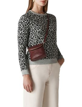 Cheetah Flocked Sweatshirt by Whistles