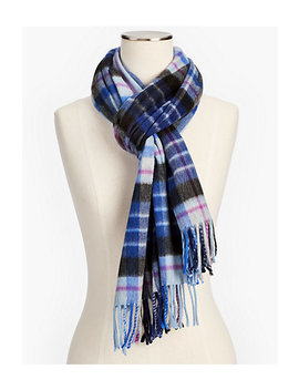 Cashmere Scarf   Merry Plaid by Talbots