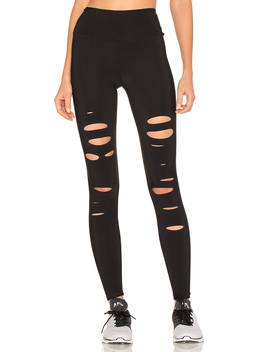 High Waist Ripped Warrior Legging by Alo