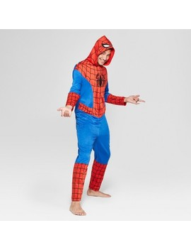 Men's Spider Man Novelty Union Suit   Red by Spider Man