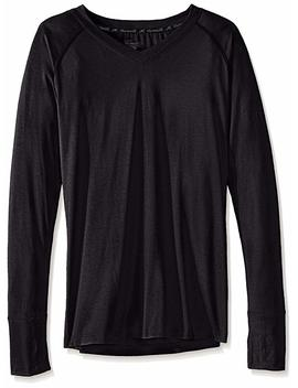 Terramar Women's Thermasilk V Neck Top by Terramar