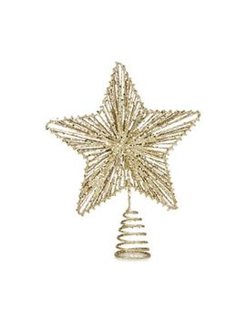 debenhams---gold-sequined-tree-topper by debenhams