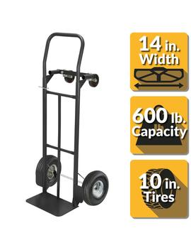 600 Lbs. Capacity 2 In 1 Convertible Hand Truck by Olympia