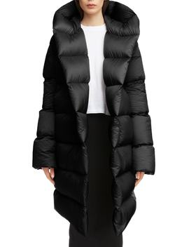 Down Fill Puffer Coat by Rick Owens