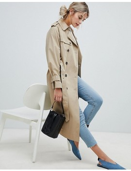 New Look   Oversized Trenchcoat by Asos