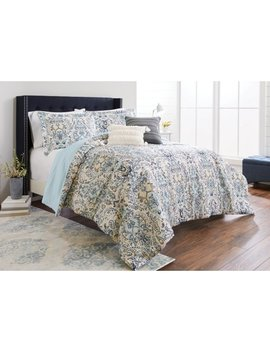 Better Homes & Gardens Moghul Paisley 5 Piece Comforter Set by Mainstays